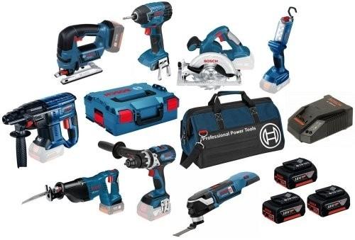 18v 7pce-12pce Power Tool Kits