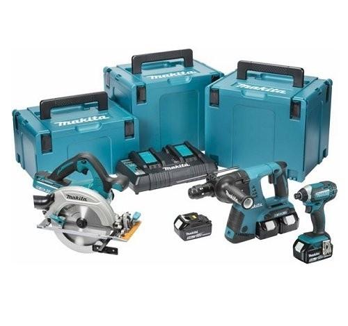18v 3pce-6pce Power Tool Kits