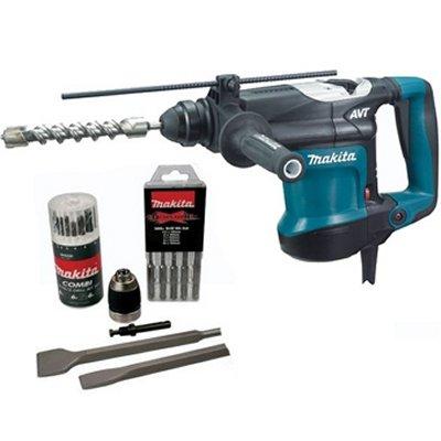 Makita S-MAK32FCT SDS-Plus Hammer Drill + Accessories