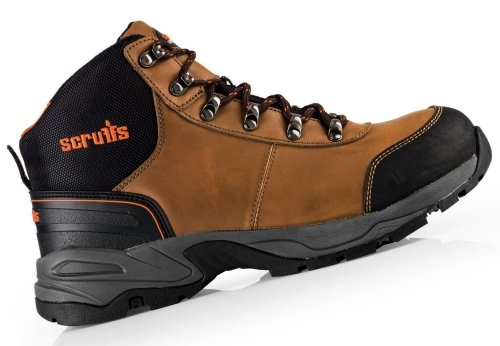 1c5e586e8b4 Scruffs T52008 Brown Assault Safety Boot Size 8 UK 42 Euro